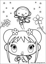 61 Ni Hao Kai-Lan printable coloring pages for kids. Find on coloring-book thousands of coloring pages. Kai Lan, Printable Coloring Pages, Coloring Pages For Kids, Coloring Books, Tinkerbell Coloring Pages, Colorful Drawings, Book Crafts, Hello Kitty, Snoopy