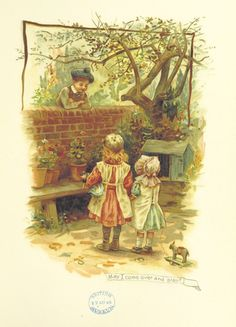Alenquerensis: Helen Jackson's, illustrations from 1883 children book. with dolls
