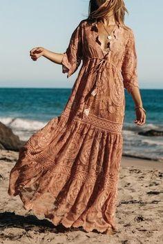 Boho Maxi Kleider I Hippie Style Summer 2019