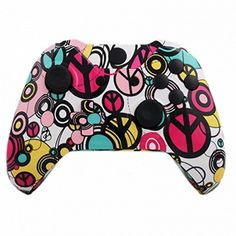 Mod Freakz ShellButton Kit Hydro Dipped Collection  Peace Maker NOT A CONTROLLER For Xbox One Gen 1 Controllers ONLY  No Headphone Jack >>> Click image for more details.Note:It is affiliate link to Amazon.