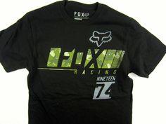 Fox Racing Moto-X FMX short sleeve tee shirt men's black regular fit size SMALL #FoxRacing #GraphicTee