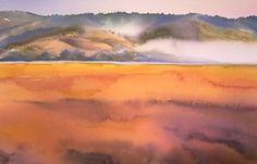 Watercolor Landscape Paintings for Sale by Artist Birgit O'Connor
