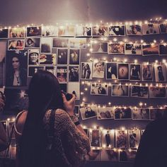 could be just pictures you take at collage or with your collage friends? That way they can enjoy them too and you have an awesome collection of memories