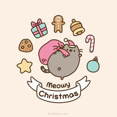 Christmas | Pusheen the cat |