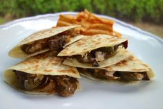 Chipotle Cheesesteak Quesadillas | Plain Chicken