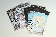 Project Life Norge Kit, Project Life, Projects, Log Projects, Blue Prints