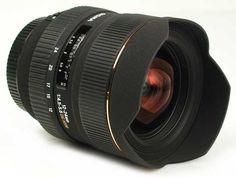 Sigma 12 - 24 mm lens