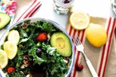 Fresh Kale Salad Recipe
