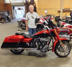 Thanks to Roger Snell from McHenry MS for getting a 2014 Harley Davidson Road King CVO at Hattiesburg Cycles