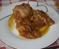 Solomillo de cerdo con cebolla y manzana por Mirian Reyes. Receta realizada con Chef Plus Induction.
