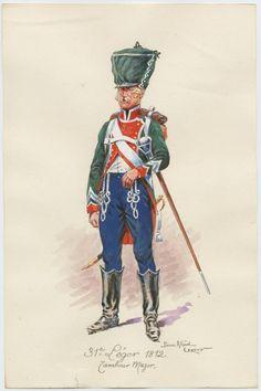 Tamburo maggiore del 31 rgt. fanteria leggera