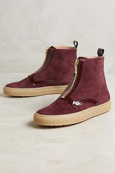 Day Zipper Sneaker Booties - anthropologie.com