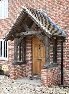 11 Sawn Oak Porch