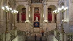 escalera principal del palacio real de madrid - Buscar con Google ...