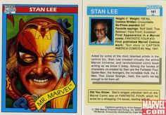 Make Mine Marvel - Marvel Universe Trading Cards Series 1 [1990]