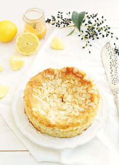 Fact: This light and crumbly lemon cake will melt in your mouth. Get the recipe at Honey + Figs.