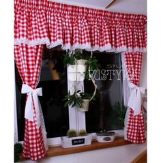 Give a unique headboard to your loustic! Cute Curtains, Elegant Curtains, Country Curtains, Hanging Curtains, Drapes Curtains, Vintage Kitchen Curtains, Kitchen Window Valances, Rideaux Shabby Chic, Window Curtain Designs