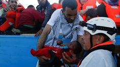 Migrant boats: Thousands saved off Libyan coast over Easter http://www.bbc.co.uk/news/world-europe-39614407
