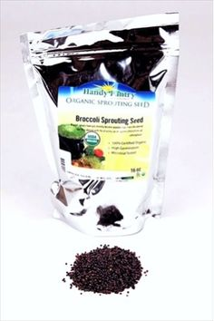 Broccoli Sprout Seed | Organic Broccoli Sprouting Seeds - Grow Broccoli Sprouts
