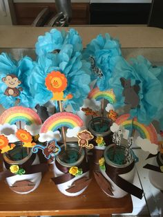 Center pieces noahs ark!