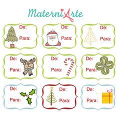 Etiquetas e Carta Papai Noel para impressão Peanuts Comics, Printable Labels, Party Favors, Parties, Printable Tags, Printables, Christmas