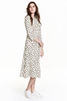 Patterned maxi dress   H & M