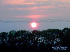 Sunset over Thurlow Ward off of Highway 62 near Foxboro Ontario