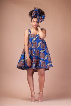 66c6b17d8013d Robe Kesi par Grassfieldss sur Etsy Robes Courtes Africaines, Robes  Traditionnelles Africaines, Robe Marinière
