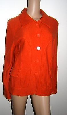 NBW Womens Harve Benard Wool Cardigan Sweater Button Jacket M Burnt Orange #Beautiful #Fall #Ebay