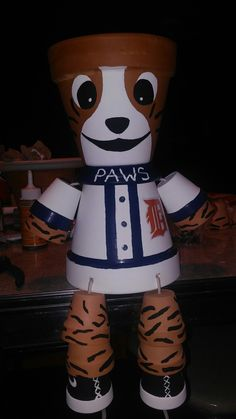 Paws Detroit Tigers