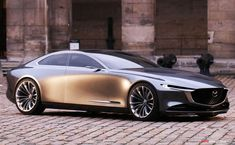 Mazda VISION COUPE Wins 'Most Beautiful Concept Car of the Year'