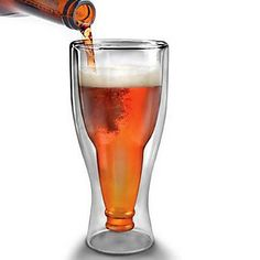 350cc Heat-Resistant Glass Beer Cup Creative Double Wall Glass Cup, Win Cup Large Cup Of Water - USD $ 11.99
