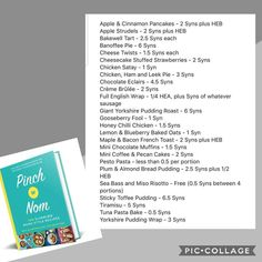Well for everyone moaning including me🙈 that the new pinch of nom book has no syn value. Slimming World Recipes Uk, Slimming World Books, Slimming World Syns List, Slimming World Speed Food, Slimming World Survival, Slimming World Syn Values, Slimming World Diet Plan, Slimming World Snacks, Slimming Worls