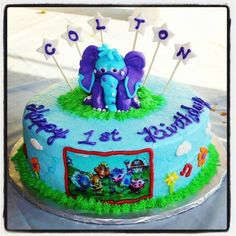 "Shared by Jamie Hope Adcock: ""My son's gigglebellies cake! He loves the gigglebellies!!!!""  #GBbirthday"