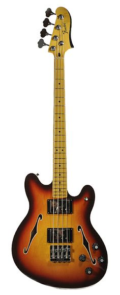 FENDER Starcaster Bass - Aged Cherry Burst | Chicago Music Exchange  This....I want it!!!