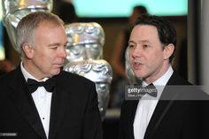 Steve Pemberton and Reece Shearsmith arrive for the BAFTA TV Craft Awards, at The Brewery on April 2015 in London, England. Inside No 9, Steve Pemberton, Reece Shearsmith, Alan Turing, Photo Grouping, Award Winner, Awards, British, Guys