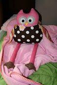 Stuffed owls....yes, Etsy!