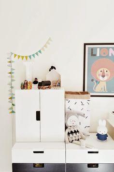 kids room storage, IKEA Stuva system