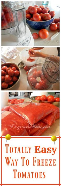 How To Freeze Tomatoes Spaghetti Sauce Super Easy And Salsa