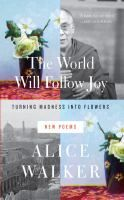 In this luminous collection of poems, Pulitzer Prize-winner Alice Walker casts her eye on history, politics and nature, as well as world figures. In tributes to such people as Jimmy Carter, Gloria Steinem and the Dalai Lama, she reminds readers of the urgency of this moment in history and of the human capacity to come together and take action. Walker imbues her poetry with memorable images, as well as anger, forgiveness and wisdom.