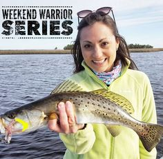 "For this week's #weekendwarrior we introduce you to Vanessa (@rubies2redfish & rubies2redfish.com). ""Being a weekend warrior means that outside of the ""normal"" day job you'll find me outside living life to the fullest. If I could I would probably always  be on the water or outdoors. So on the weekends I make the most of my free time & adventure outside. My deepest passion is for inshore fishing either salt or fresh water. I sometimes kayak hike or just hangout by the water with my little…"