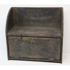 Rustic bread box.