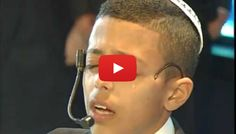 So moving - you have to watch this incredible child sing! I have tears in my eyes.