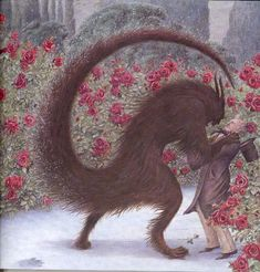 çizgili masallar: Angela Barrett, Beauty and the Beast