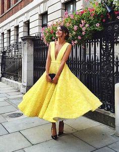yellow homecoming dresses,homecoming dresses,prom,prom dress,tea length homecoming dress