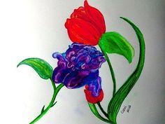 Beautiful Flower Power by cathib9 on Etsy, $25.00