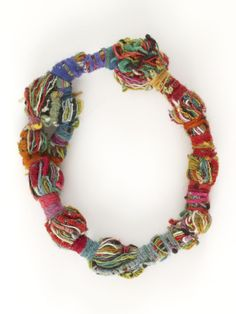 Necklace by Sheila Hicks (suggestion for other workshops)…