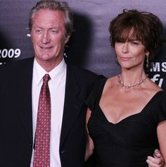 Rachel Ward And Her Husband The Actor Bryan Brown