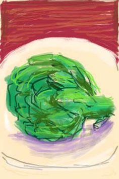 David Hockney. iPhone.