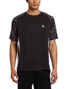 Fila Men's Baseline Print Sleeve Crew Neck Shirt, Grey, Large by Fila. $47.93. Beat your friends all day long with this crew shirt